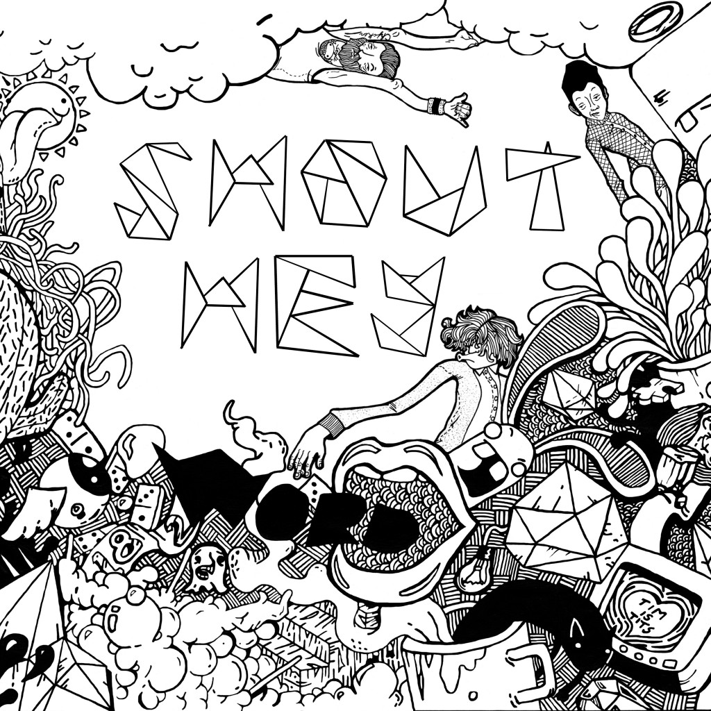 Shout Hey Word of Mouth Artwork