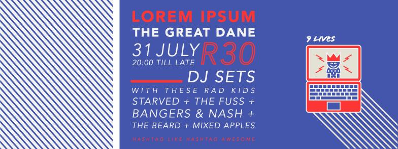 Lorem Ipsum Event Promo