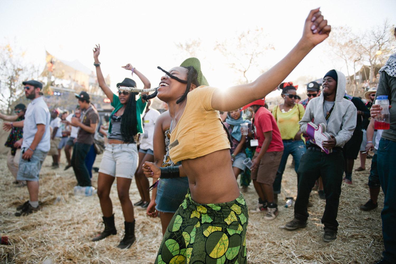 Dancing Oppikoppi