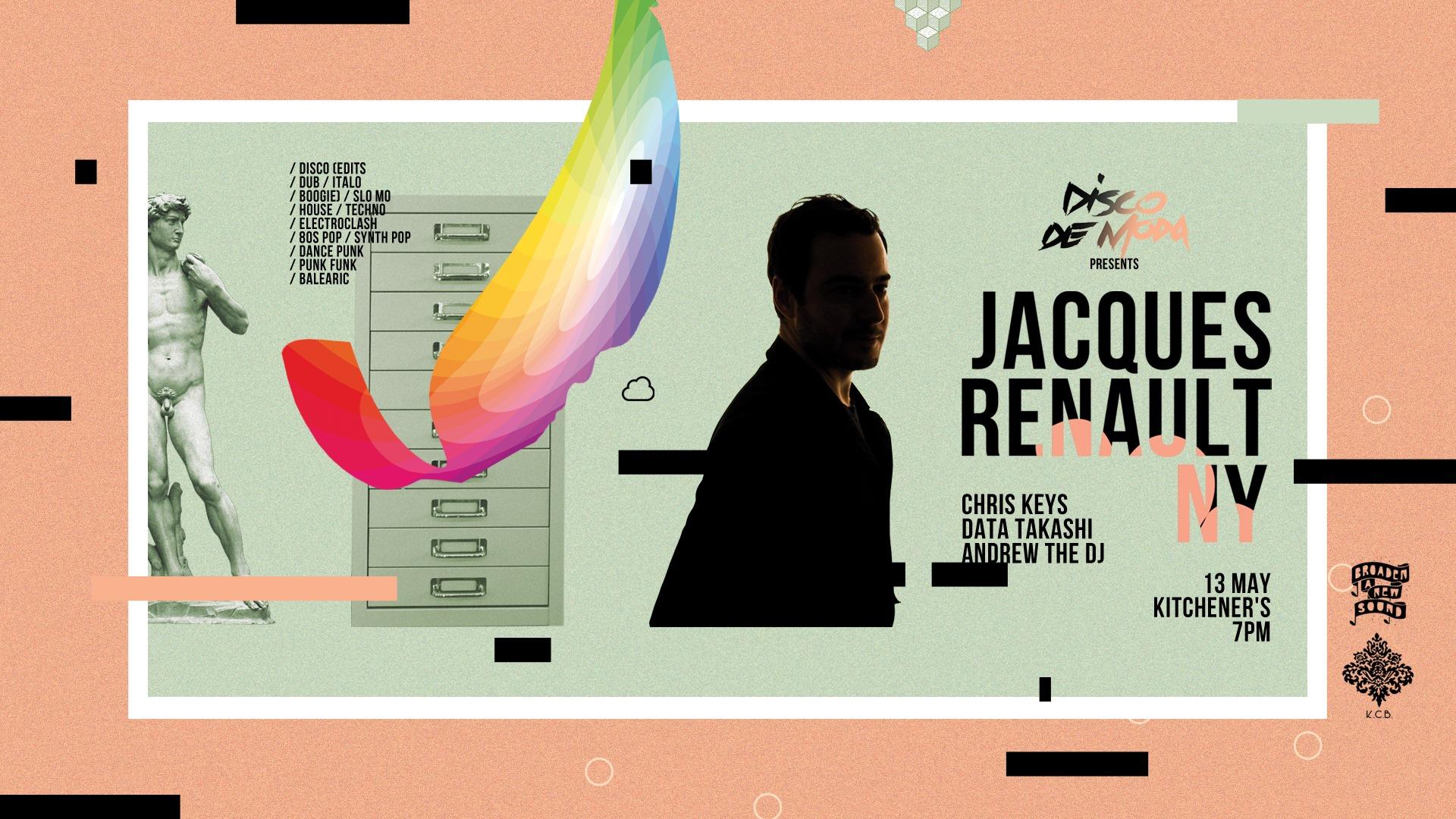 Disco De Moda: Jacques Renault (New York) - The Fuss