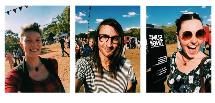 selfies of capital craft beer festivall