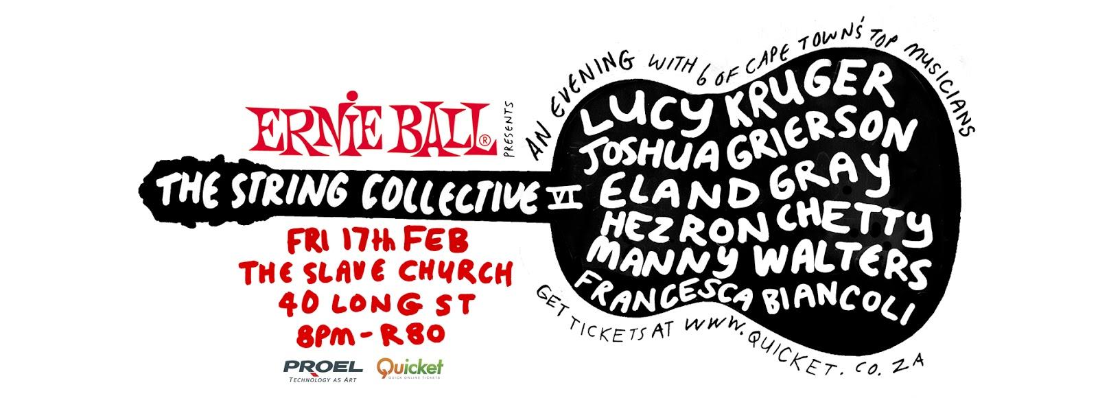Ernie Ball String Collective 6 Facebook smaller